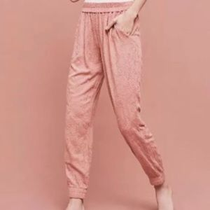 Saturday Sunday Anthro Embroidered Soft jogger L